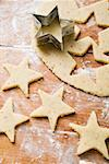 Cutting out star-shaped biscuits Stock Photo - Premium Royalty-Free, Artist: Glowimages, Code: 659-01850004
