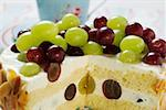 Yoghurt cake with grapes Stock Photo - Premium Royalty-Free, Artist: foodanddrinkphotos, Code: 659-01853799