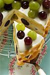 Yoghurt cake with grapes Stock Photo - Premium Royalty-Free, Artist: foodanddrinkphotos, Code: 659-01853801