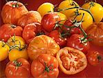 Various types of tomatoes Stock Photo - Premium Royalty-Free, Artist: Beanstock Images, Code: 659-01854443