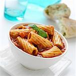 Rigatoni with tomato sauce Stock Photo - Premium Royalty-Free, Artist: Glowimages, Code: 659-01855596