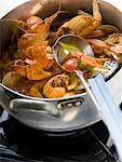 Crayfish stew in stew-pan on cooker Stock Photo - Premium Royalty-Free, Artist: Photocuisine, Code: 659-01857053