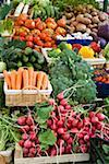 Market stall with various kinds of vegetables Stock Photo - Premium Royalty-Freenull, Code: 659-01857651