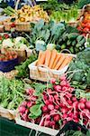 Market stall with various kinds of vegetables Stock Photo - Premium Royalty-Freenull, Code: 659-01857652