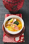 Fish soup with red mullet, red lentils & pineapple (Asia) Stock Photo - Premium Royalty-Free, Artist: I Dream Stock, Code: 659-01859132