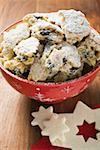 Stollen pieces for Christmas Stock Photo - Premium Royalty-Free, Artist: Photocuisine, Code: 659-01860031