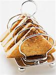 Toast in toast rack Stock Photo - Premium Royalty-Free, Artist: foodanddrinkphotos, Code: 659-01863985