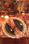 Festive place-setting for Thanksgiving (USA) Stock Photo - Premium Royalty-Free, Artist: Jerzyworks, Code: 659-01865169