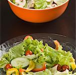 Close-up of two bowls of salad Stock Photo - Premium Royalty-Free, Artist: Photocuisine, Code: 630-01875937