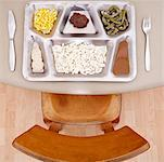 Food in Prison Tray    Stock Photo - Premium Rights-Managed, Artist: Mike Randolph, Code: 700-01878696