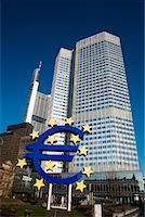 European Central Bank, Frankfurt, Hessen, Germany    Stock Photo - Premium Rights-Managednull, Code: 700-01879218