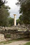 Temple of Zeus, Olympia, Greece    Stock Photo - Premium Rights-Managed, Artist: Derek Shapton, Code: 700-01879383
