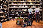 Men Working in Wine Store    Stock Photo - Premium Rights-Managed, Artist: R. Ian Lloyd, Code: 700-01879623