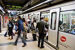 Subway in Barcelona, Spain    Stock Photo - Premium Rights-Managed, Artist: R. Ian Lloyd, Code: 700-01879675