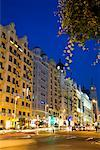 The Gran Via, Madrid, Spain    Stock Photo - Premium Rights-Managed, Artist: R. Ian Lloyd, Code: 700-01879794