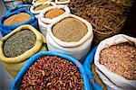 Spices, Medina of Fez, Morocco    Stock Photo - Premium Rights-Managed, Artist: R. Ian Lloyd, Code: 700-01879937