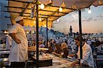 Food Stand, Jemaa El Fna, Medina of Marrakech, Morocco
