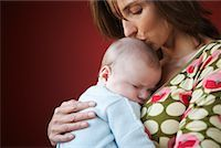 people kissing little boys - Mother with Baby    Stock Photo - Premium Royalty-Freenull, Code: 600-01887387