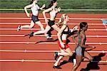 Track and Field Race    Stock Photo - Premium Rights-Managed, Artist: Blue Images Online, Code: 700-01954729