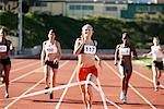 Track and Field Race    Stock Photo - Premium Rights-Managed, Artist: Blue Images Online, Code: 700-01954735