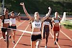 Track and Field Race    Stock Photo - Premium Rights-Managed, Artist: Blue Images Online, Code: 700-01954737