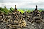 Borobudur Temple, Magelang, Kedu Plain, Central Java, Java, Indonesia    Stock Photo - Premium Rights-Managed, Artist: dk & dennie cody, Code: 700-01954911