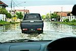Flooded Streets in Semarang, Central Java, Java, Indonesia    Stock Photo - Premium Rights-Managed, Artist: dk & dennie cody, Code: 700-01954937