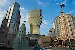 Downtown Macau, China