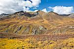 Mountains and River, Tombstone Territorial Park, Yukon, Canada    Stock Photo - Premium Rights-Managed, Artist: J. David Andrews, Code: 700-01955399