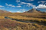 Mountain and Stream, Tombstone Territorial Park, Yukon, Canada    Stock Photo - Premium Rights-Managed, Artist: J. David Andrews, Code: 700-01955400