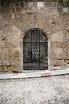 Arched Doorway, Avenue of the Knights, Rhodes, Greece    Stock Photo - Premium Rights-Managed, Artist: Derek Shapton, Code: 700-01955723