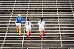 Soccer Players Running Up Stairs    Stock Photo - Premium Rights-Managed, Artist: Blue Images Online, Code: 700-01955757