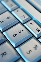 Close-up of Dollar Sign Button on Computer Keyboard    Stock Photo - Premium Rights-Managednull, Code: 700-01955764