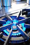 Close-up of Gas Stove    Stock Photo - Premium Rights-Managed, Artist: Ron Fehling, Code: 700-01955772