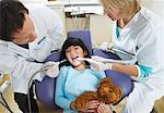Girl at Dentist    Stock Photo - Premium Rights-Managed, Artist: Masterfile, Code: 700-01992998