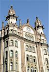 Hungary, Budapest, Pest, Ferenciek ter, Art nouveau building Stock Photo - Premium Royalty-Free, Artist: Robert Harding Images, Code: 610-02000382