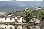 China, Anhui, Hongcun, traditional village Stock Photo - Premium Royalty-Freenull, Code: 610-02001049