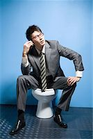 a business man Stock Photo - Premium Royalty-Freenull, Code: 642-02005993