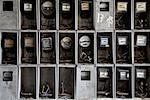 Close-up of Hydro Meters in an Abandoned Building, Havana, Cuba    Stock Photo - Premium Royalty-Free, Artist: James Tse, Code: 600-02010231