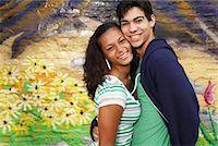 Portrait of Couple    Stock Photo - Premium Royalty-Freenull, Code: 600-02033787