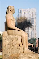 egyptian hieroglyphics - Statue at the Egyptian Museum, Cairo, Egypt    Stock Photo - Premium Royalty-Freenull, Code: 600-02033818