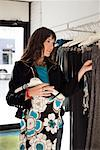 Woman Shopping    Stock Photo - Premium Rights-Managed, Artist: Orbit, Code: 700-02038147