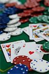 Poker Game    Stock Photo - Premium Rights-Managed, Artist: Jean-Christophe Riou, Code: 700-02038267