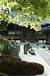 Japanese rock garden and traditional building Stock Photo - Premium Royalty-Free, Artist: Jochen Schlenker, Code: 633-02044257