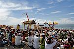 People in Cermony by Water, Indonesia    Stock Photo - Premium Rights-Managed, Artist: Carl Valiquet, Code: 700-02046366