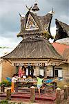 Traditional Building, Lingga, North Sumatra, Indonesia