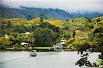 Ferry on Lake, Lake Toba, Sumatra, Indonesia