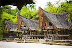 Traditional Buildings, Samosir Island, Sumatra, Indonesia