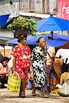 Shoppers at Market, Porsea, Sumatra, Indonesia    Stock Photo - Premium Rights-Managed, Artist: R. Ian Lloyd, Code: 700-02046569