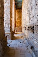 egyptian hieroglyphics - Medinet Habu Temple, West Bank, Luxor, Egypt    Stock Photo - Premium Royalty-Freenull, Code: 600-02046676